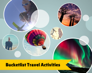 Bucketlist Travel Activities